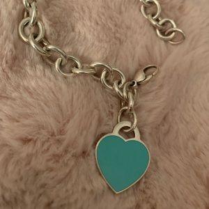 Tiffany & Co. Jewelry - Tiffany & co. Heart Tag Bracelet.